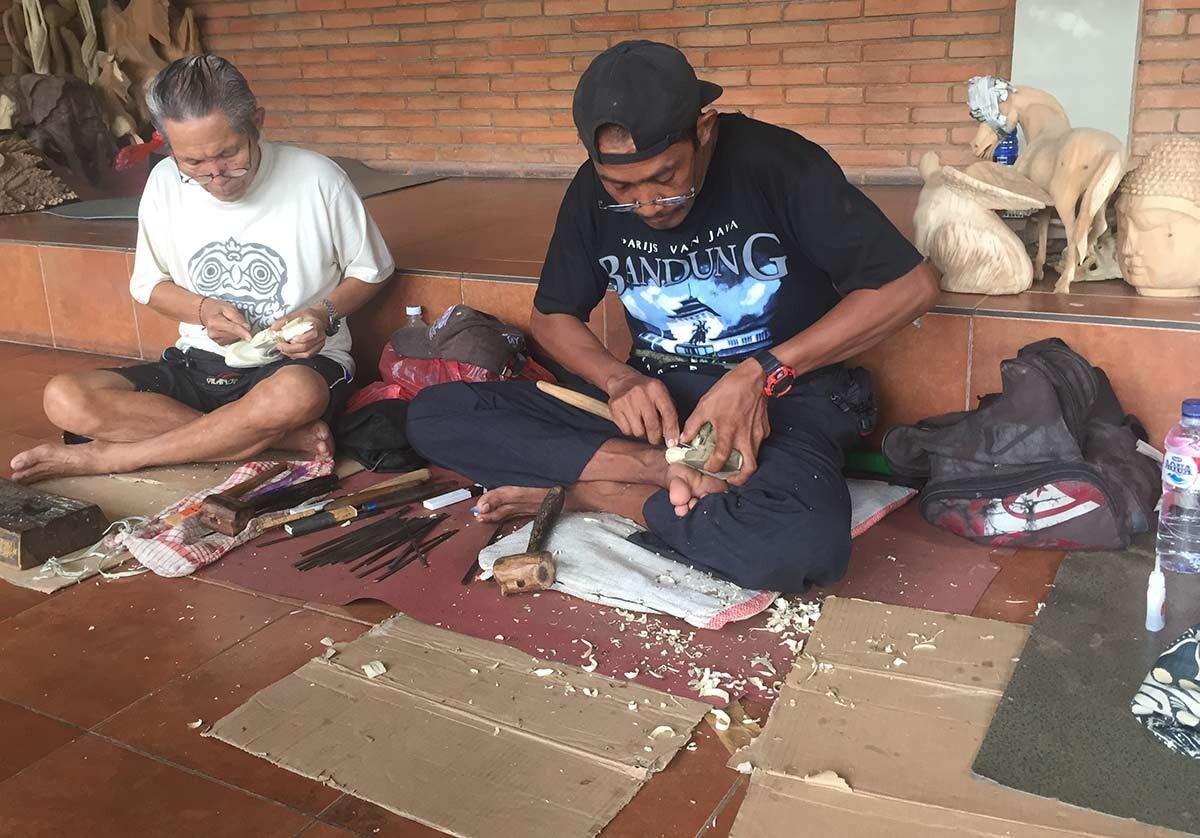 Treskjærer Bali