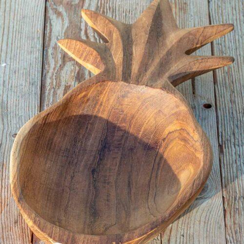 Treskål ananas