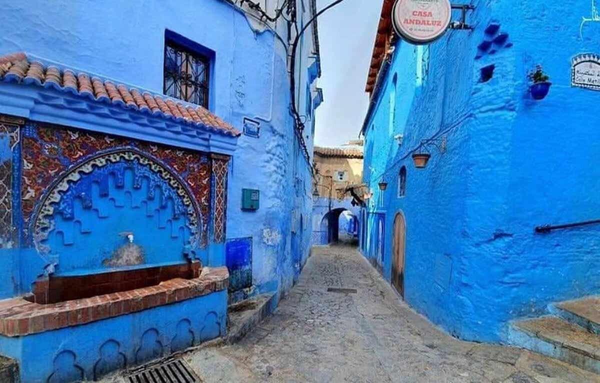 Chefchaouen - den blå byen